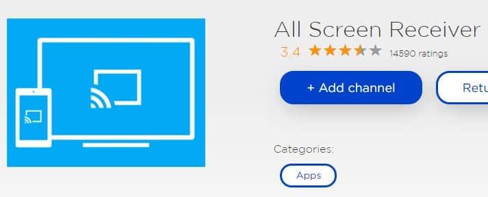 All Screen Receiver for Roku