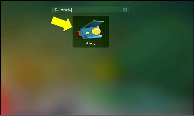 Andy OS on Mac