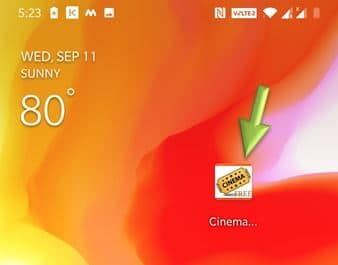 Cinema APK Shortcut icon