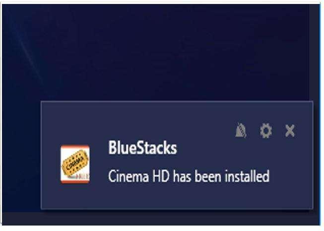 Pop Up on BlueStacks